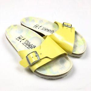 Birkenstock Birki's Sandals Women's Size 37 Yellow
